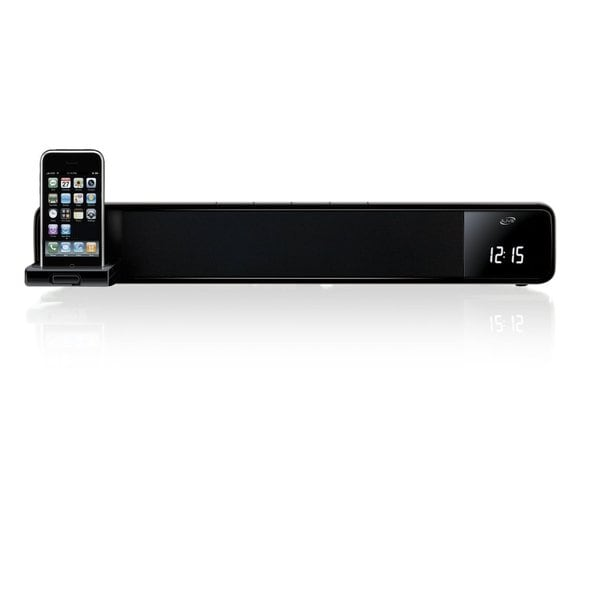 Ilive Itp100 Two Channel Bar Speaker System with Docking and Recharging Station For Iphone and Ipod (Refurbished)