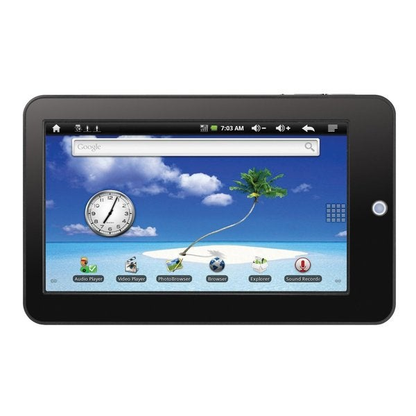 Curtis Klu Lt7029 7-inch Touch Screen Internet Tablet (Refurbished)