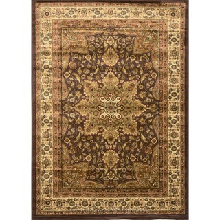 Home Dynamix Royalty Collection 8083-500 Brown Area Rug (1'7.6 x 2'7.5)