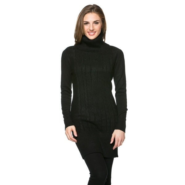 High Secret Women's Turtle Neck Tunic/Dress