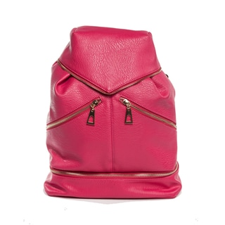 Hang Accessories Fuchsia Tech Organizing Convertible Tablet Backpack