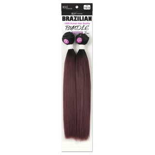 Braizilian Hair Style Essence Remi Touch Yaki Straight 12-inch Synthetic Hair Weave