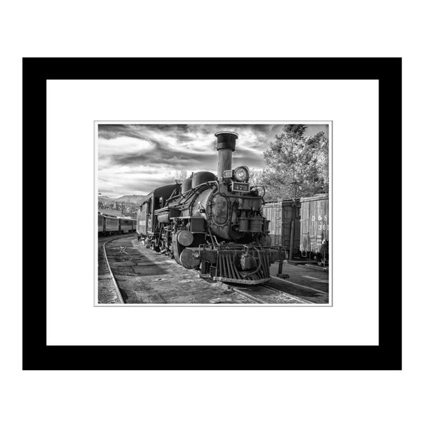 Prestige Art Studios The Age of Steam Framed Print
