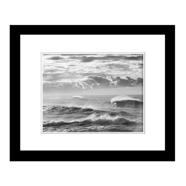 Prestige Art Studios Waves Above and Below Framed Print
