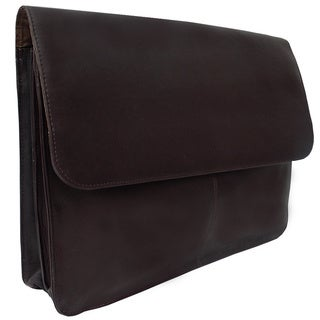 Piel Leather Three-Section Flap Portfolio