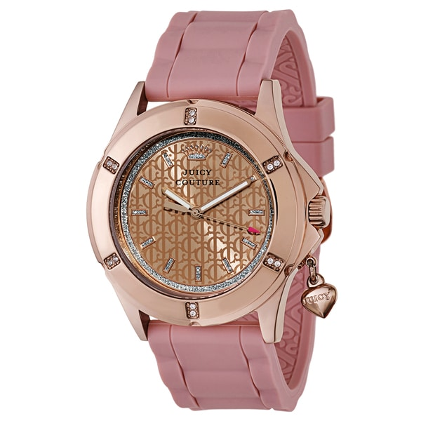 Juicy Couture Women's 1901198 Rich Girl Goldplated Watch