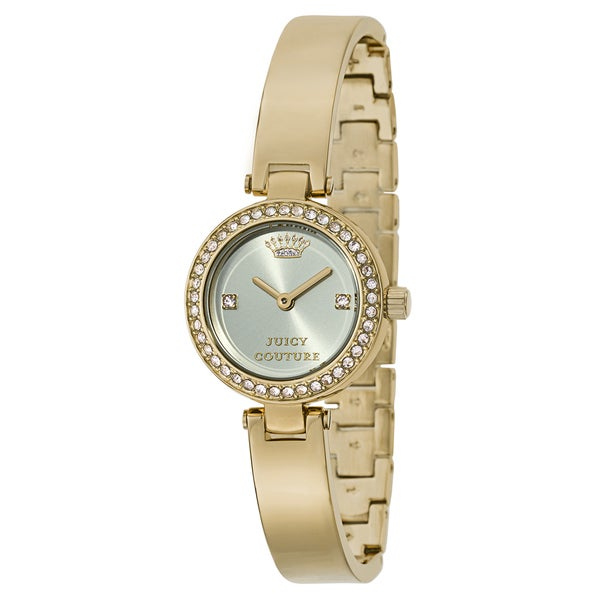 Juicy Couture Women's 1901225 Luxe Couture Goldplated Watch
