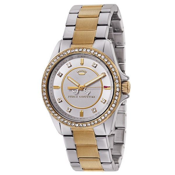 Juicy Couture Women's 1901078 Stella Two-tone Watch