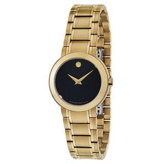 Movado Women's 0606942 Stiri Goldplated Watch