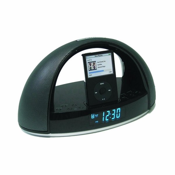 Sylvania Sip220 Ipod Dock Clock Radio (Refurbished)
