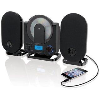 Gpx Hc208 Home Music System - Cd Player, Am/ Fm Tuner, Digital Clock (Refurbished)