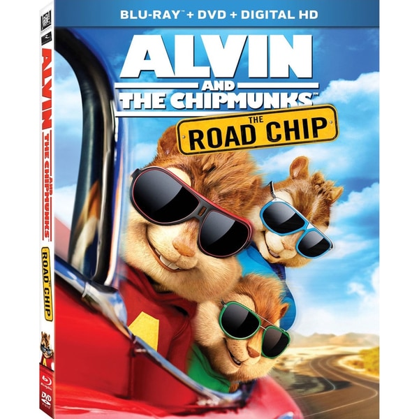 Alvin And The Chipmunks: The Road Chip (Blu-ray/DVD) 16993349