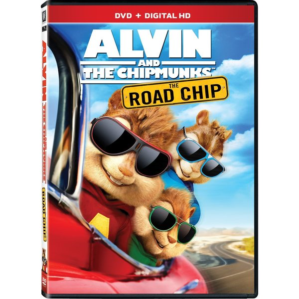 Alvin And The Chipmunks: The Road Chip (DVD) 16993350