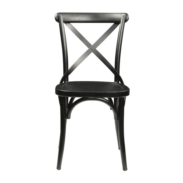 Alexander Industrial Steel Side Chair