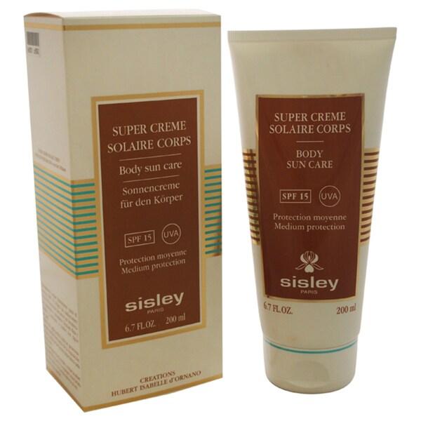Sisley 6.7-ounce Body Sun Care SPF 15 UVA Medium Protection