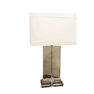 Bombay Outlet Crystal Rectangular Table Lamp