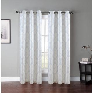 Lush Decor White 84 Inch Lilian Curtain Panel 14120140