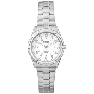 Timex Women's TW2P889009J Easton Avenue Silver-Tone Stainless Steel Expansion Band Watch
