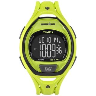 Timex Unisex TW5M017009J Ironman Sleek 50 Neon Green Watch