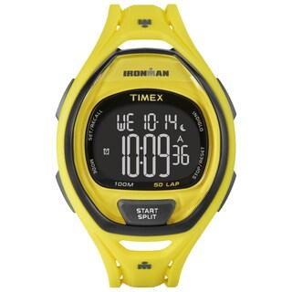 Timex Unisex TW5M018009J Ironman Sleek 50 Neon Yellow Watch