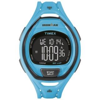 Timex Unisex TW5M019009J Ironman Sleek 50 Neon Blue Watch