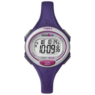 Timex Women's TW5K901009J Ironman Essential 30 Purple Watch