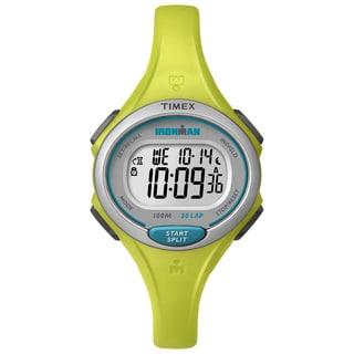 Timex Women's TW5K902009J Ironman Essential 30 Lime Watch