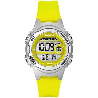 Marathon by Timex Women's TW5K96700M6 Digital Yellow Watch