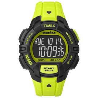Timex Men's TW5M025009J Ironman Rugged 30 Neon Green Watch