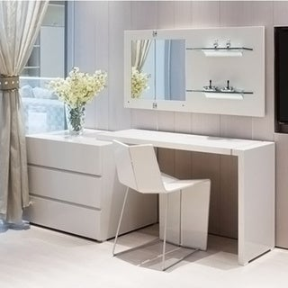 Modern Colletti 3 Drawer Desk 18025076 Overstock Com