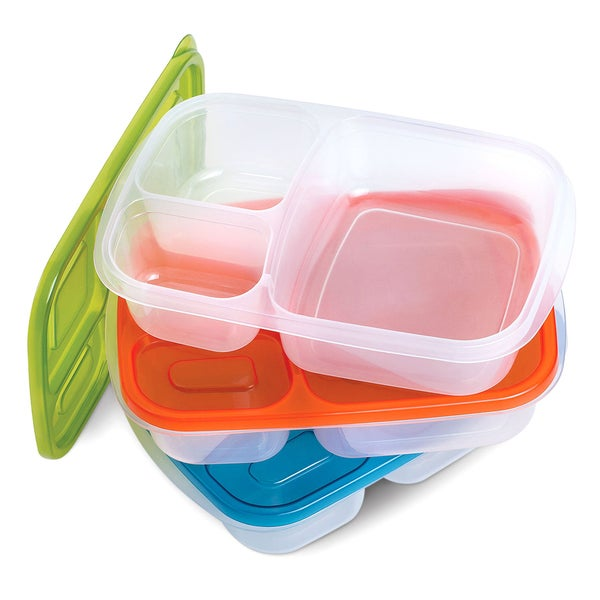 3 Piece Bento Box Set With Lids