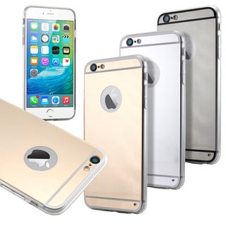 Gearonic Luxury Aluminum Mirror Case Cover for Apple iPhone 6 6S Plus