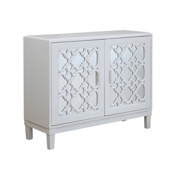 Christopher Knight Home White Two Door Cabinet