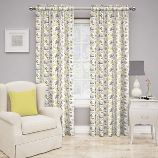 Traditions by Waverly Set in Spring Floral Curtain Panel