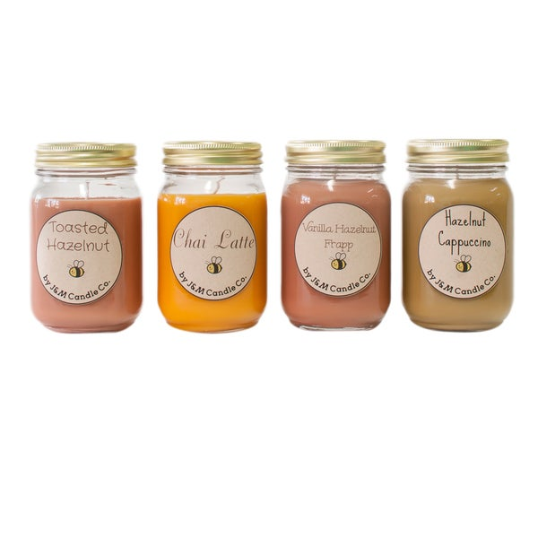 J&M Candle Company 100-percent Natural 16 oz 'Very Berry' Soy Candle Collection