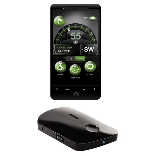 Cobra Iradar Irad-105 Radar Detector For Android Devices (Refurbished)