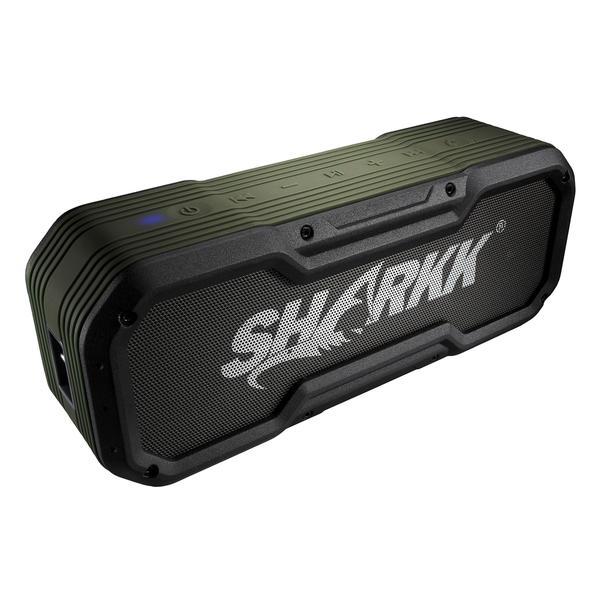SHARKK Rugged/WaterProof IP65Certified BoomBox Bluetooth Speaker 30h Battery