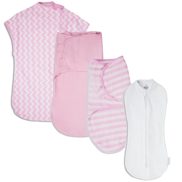 SwaddleMe 1st Year Safe Sleep Pink Gift Set