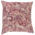 Vilette Paisley 18 Inch Down and Feather Filled Throw Pillow