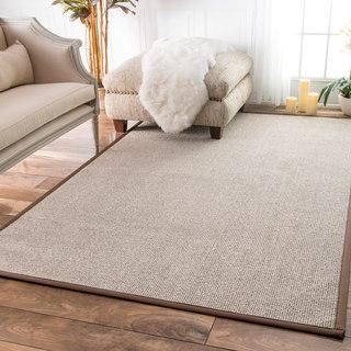 nuLOOM Faux Sisal Bordered Indoor/ Outdoor Rug (5' x 8')