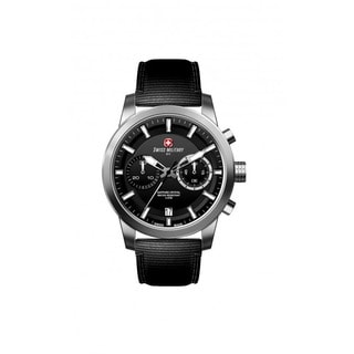 Swiss Military by R 09501 3 N Sniper Men's Chrono Black Nylon Strap Watch with pocket military knife