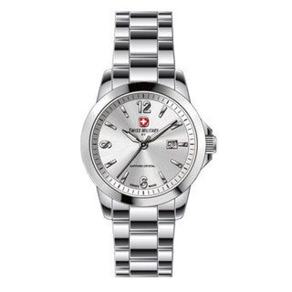 Swiss Military by R 50503 3 A Alpha Men's Silver Dial Swiss Made Watch with pocket military knife