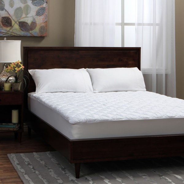 Tommy Bahama Triple Protection Stain Release Waterproof Mattress Pad (As Is Item)