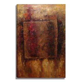 'Modern Landscape' 24x36 Impressionist Original Oil Painting Canvas Wall Art
