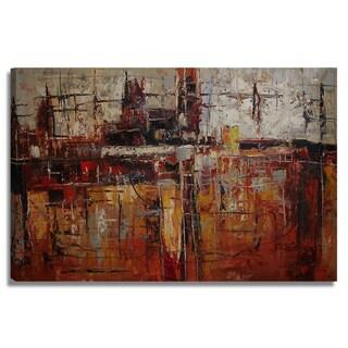 'Modern Abstract' 24x36 Abstract Modern Original Oil Painting Canvas Wall Art