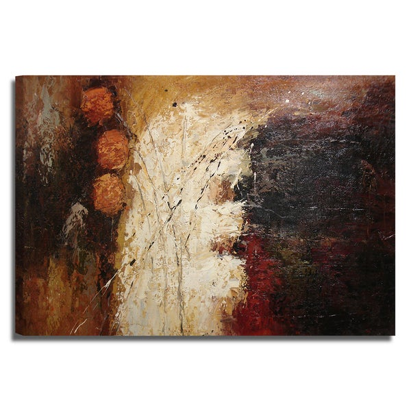 Modern Abstract 24x36 Modern Abstract Original Oil Painting Canvas