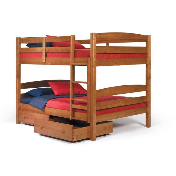 Woodcrest Pine Ridge Square Post Full/ Full Bunk Bed