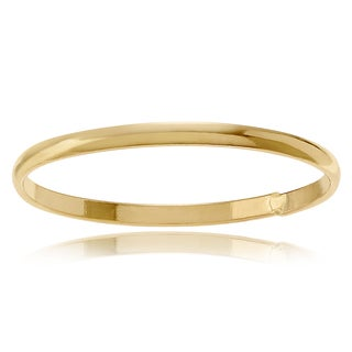 Journee Collection 14K Gold-plated Sterling Silver Wedding Band