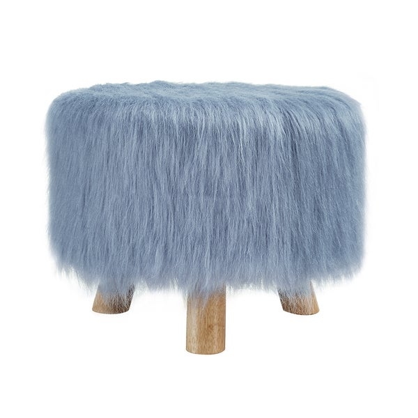 Oh! Home Katie Foot Stool - Blue