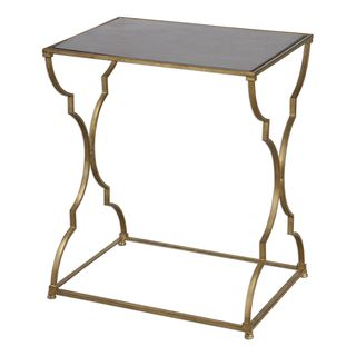 Caitland Antique Gold Accent Table